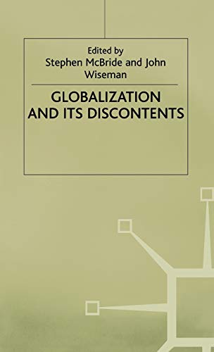 Globalisation and its Discontents: n/a
