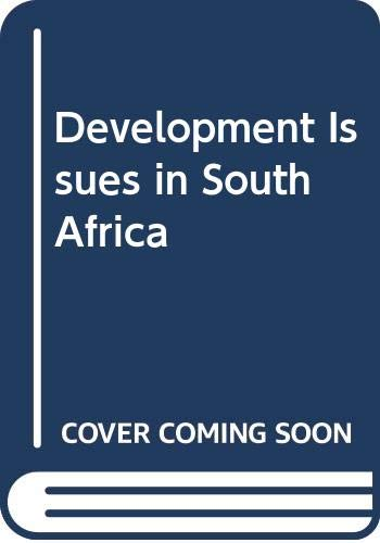 9780333777169: Development Issues in South Africa