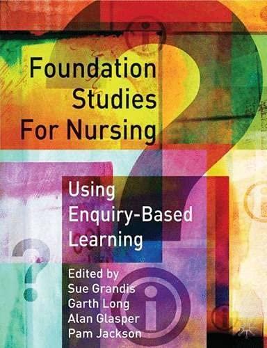 9780333777381: Foundation Studies for Nurses Using Enquiry Based Learning