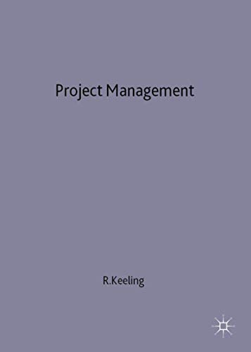 9780333777657: Project Management: An International Perspective