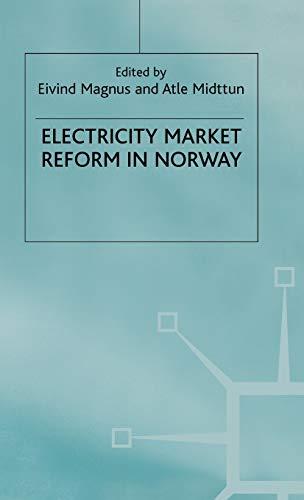 Electricity Market Reform in Norway: Palgrave Macmillan