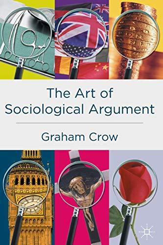 9780333778456: The Art of Sociological Argument