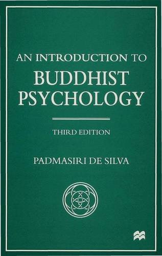 9780333779095: An Introduction to Buddhist Psychology (Library of Philosophy and Religion)