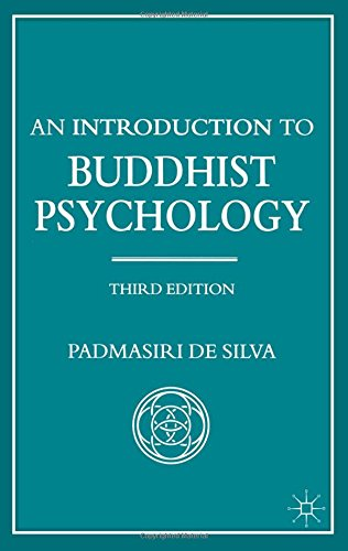 9780333779101: An Introduction to Buddhist Psychology (Library of Philosophy & Religion)