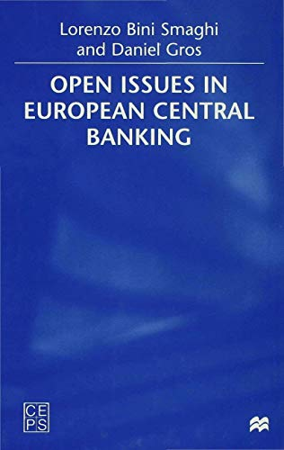 9780333779132: Open Issues in European Central Banking