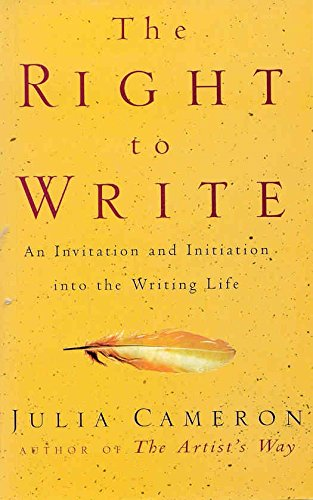 9780333782033: The Right to Write: An Invitation and Initiation into the Writing Life