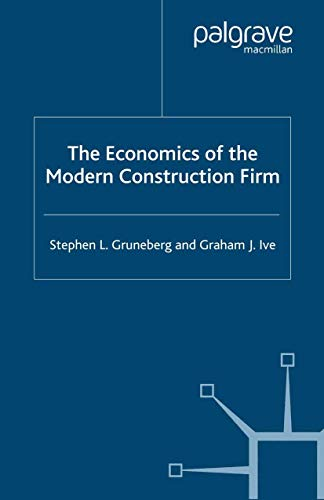 9780333790274: The Economics of the Modern Construction Firm