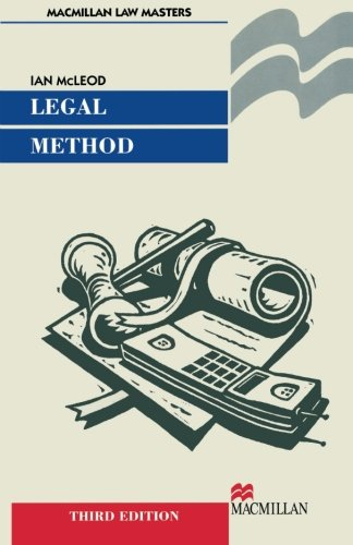 9780333790502: Legal Method (Palgrave Law Masters)