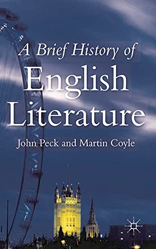9780333791769: A Brief History of English Literature