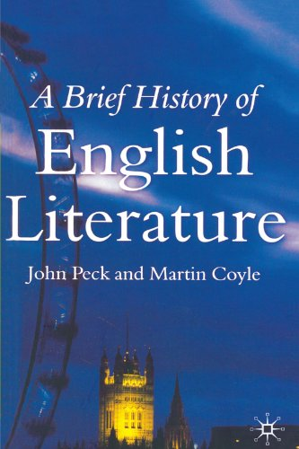 9780333791776: A Brief History of English Literature