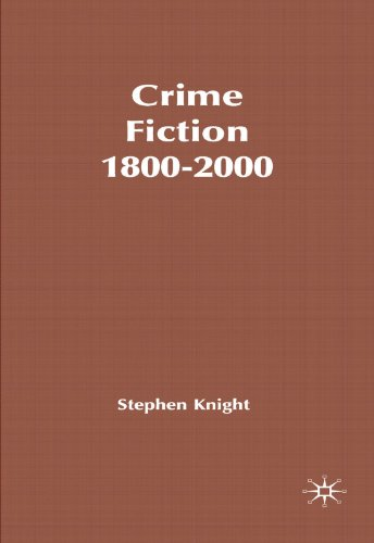 9780333791790: Crime Fiction, 1800-2000: Detection, Death, Diversity