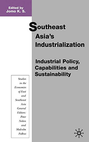 9780333792056: Southeast Asia's Industrialization: Industrial Policy, Capabilities and Sustainability