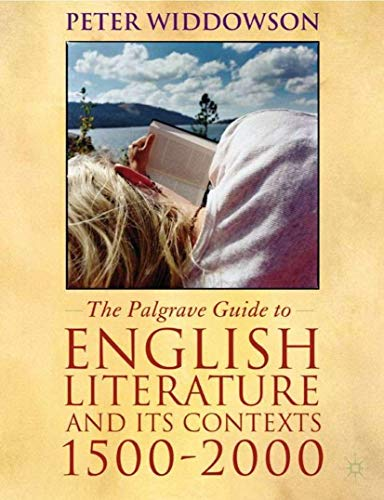9780333792179: The Palgrave Guide to English Literature and Its Contexts: 1500-2000