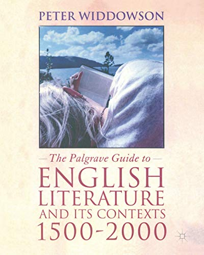 9780333792186: The Palgrave Guide to English Literature and Its Contexts: 1500-2000