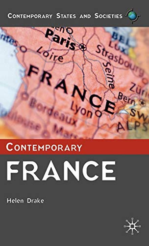 9780333792438: Contemporary France (Contemporary States and Societies)