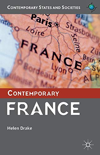 9780333792445: Contemporary France (Contemporary States and Societies)
