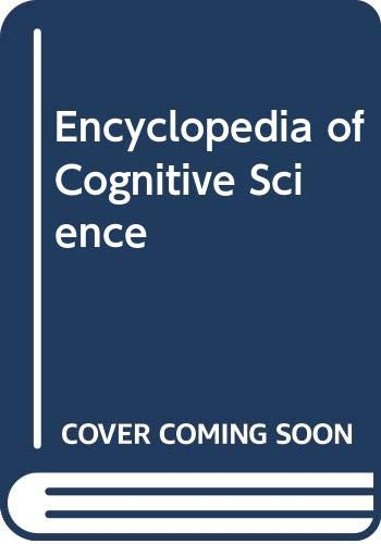 9780333792612: Encyclopedia of Cognitive Science (4 Volumes)