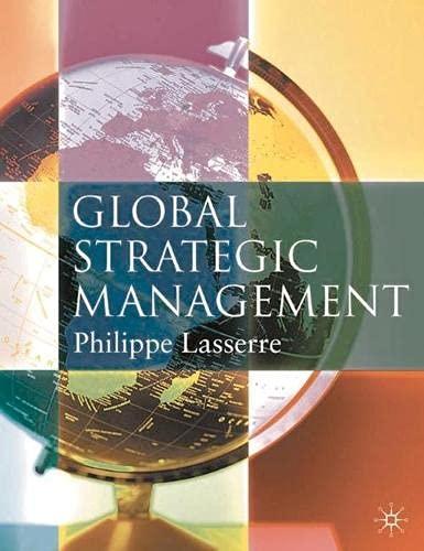 9780333793749: Global Strategic Management