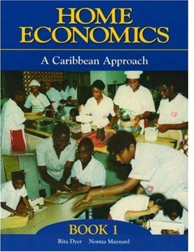 Caribbean Home Economics: Book 1 (Paperback): Norma Maynard, Rita