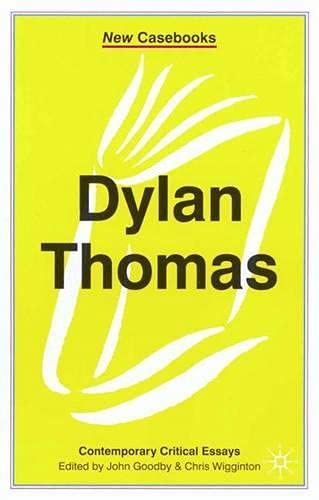 9780333803943: Dylan Thomas (New Casebooks)
