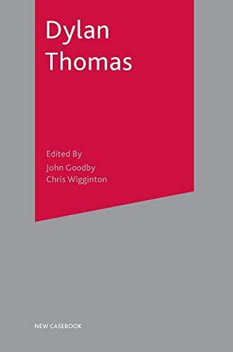 9780333803950: Dylan Thomas (New Casebooks)