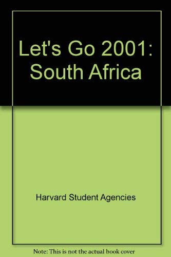 Let's Go 2001: South Africa: Harvard Student Agencies Inc.