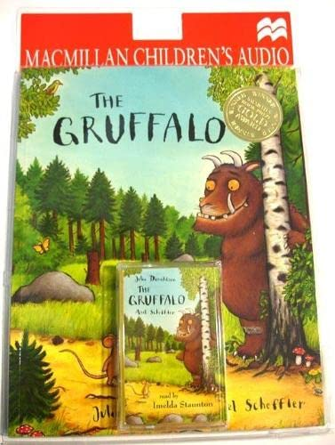 9780333907221: Gruffalo Book & Tape Pack Audio