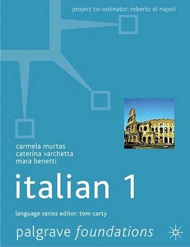 9780333912379: Foundations Italian: Level 1 (Palgrave Foundation Series Languages)