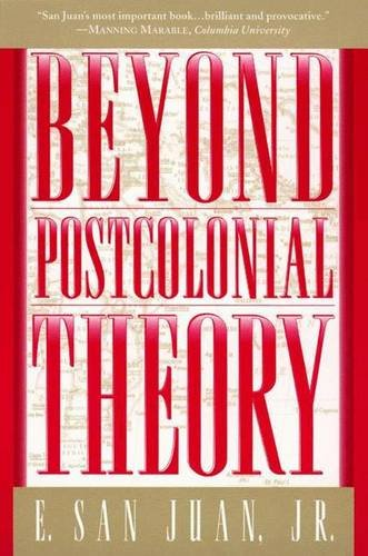 9780333913772: Beyond Postcolonial Theory