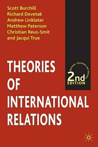 9780333914182: Theories of International Relations
