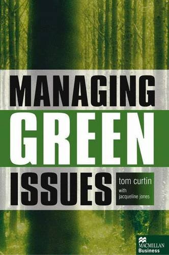 9780333914359: Managing Green Issues