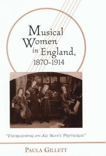 9780333915288: MUSICAL WOMEN IN ENGLAND, 1870-1914