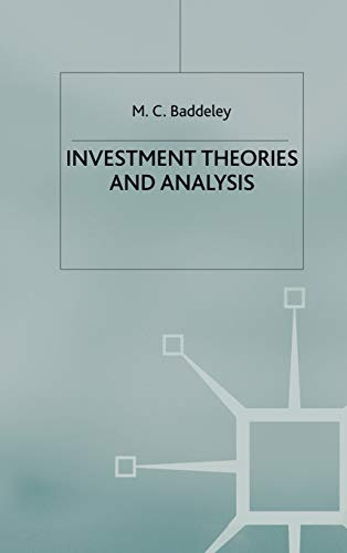 9780333915691: Investment: Theories and Analyses