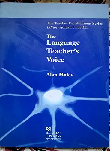 9780333916506: The Language Teacher's Voice (Teacher Development)