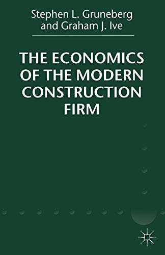 9780333919958: The Economics of the Modern Construction Firm