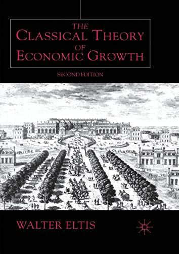 9780333919989: The Classical Theory of Economic Growth