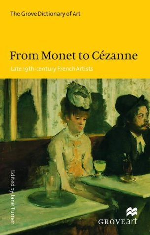 9780333920435: From Monet to Cezanne: Late 19th-century French Artists.