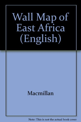 9780333921210: Wall Map of East Africa (English)