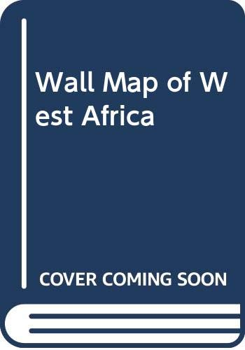 9780333921234: Wall Map of West Africa