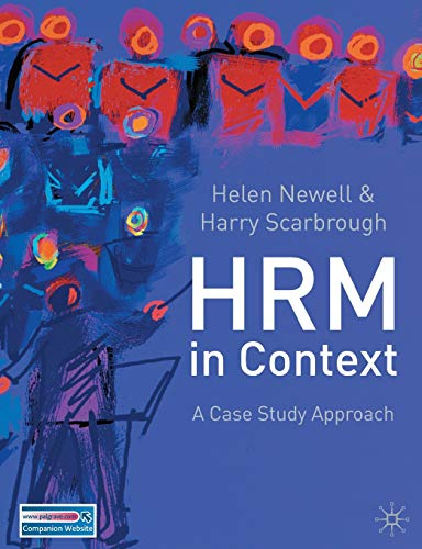 9780333921364: Human Resource Management in Context: A Case Study Approach