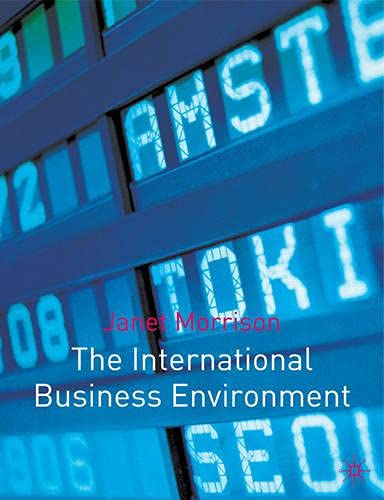 9780333921449: The International Business Environment: Diversity and the Global Economy