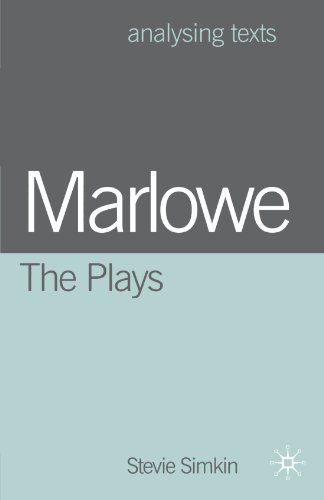 9780333922408: Marlowe: the Plays (Analysing Texts)