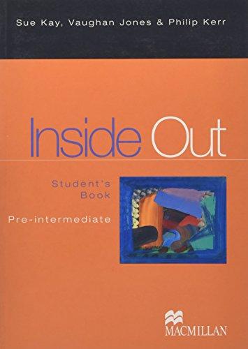 9780333923856: Inside Out. Pre-intermediate. Student's book. Per le Scuole superiori