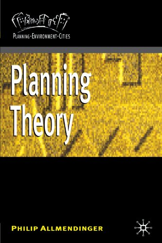 9780333925522: Planning Theory (Planning, Environment, Cities)