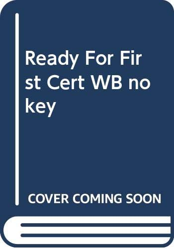 9780333928257: Ready for First Certificate: Workbook without Key