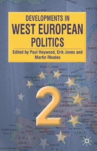 9780333928684: Developments in West European Politics