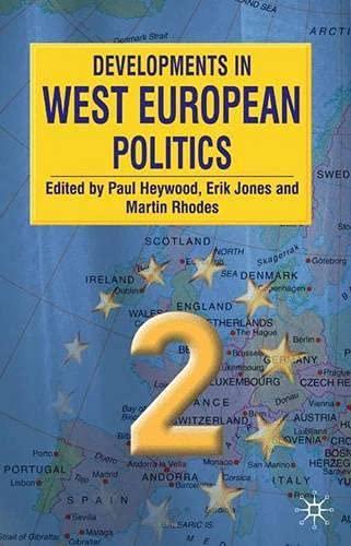 9780333928691: Developments in West European Politics