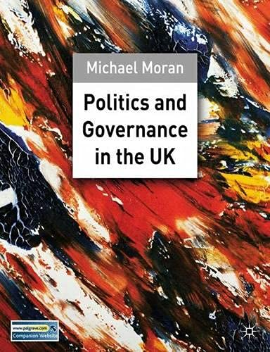 9780333945124: Politics And Governance in the Uk