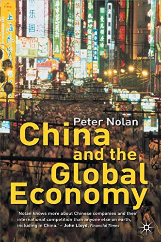 9780333945650: China and the Global Economy: National Champions, Industrial Policy and the Big Business Revolution