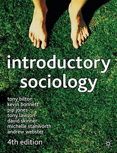 9780333945728: Introductory Sociology